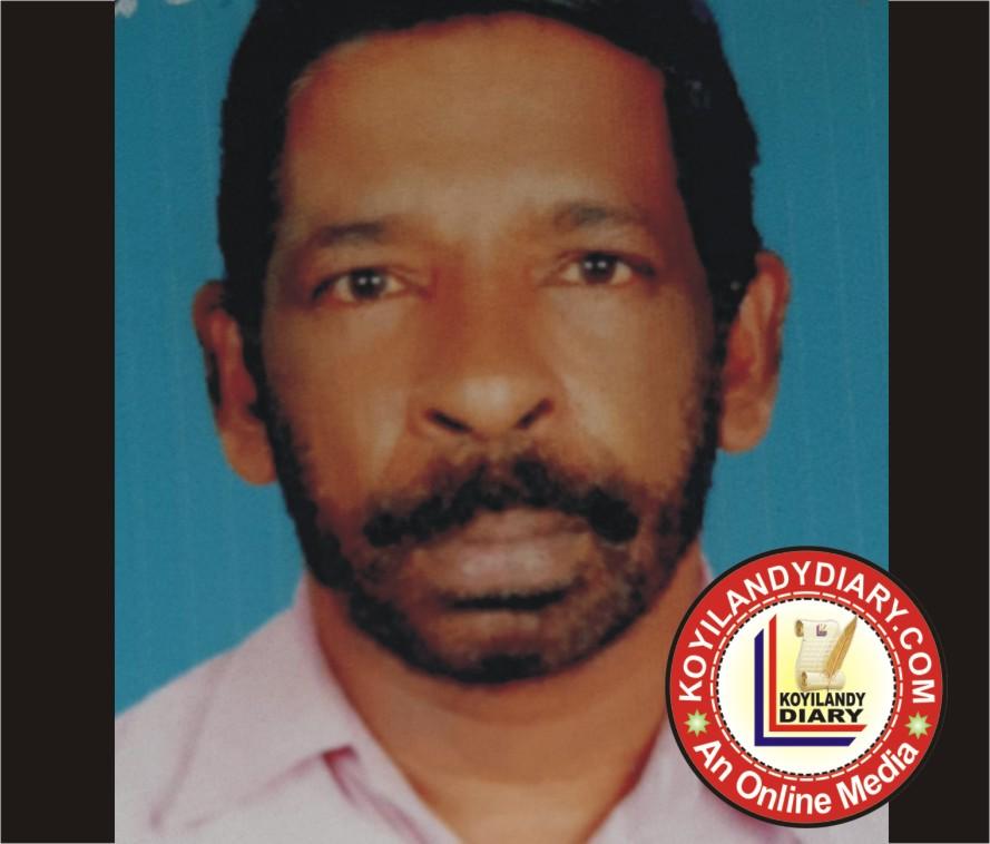 കൊയിലാണ്ടി ബപ്പൻകാട് വയലിൽ പുരയിൽ രാജൻ. എൻ. കെ (56)