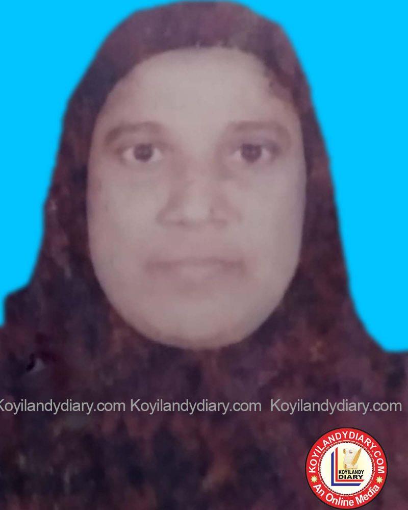 കുറുവങ്ങാട് മാവിൻ ചുവട് പാറക്കൽ ജമീല (55)