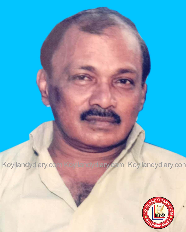 പന്തലായനി ഡ്രീം ഹൌസിൽ എൻ. സി. അരവിന്ദാക്ഷൻ (67)