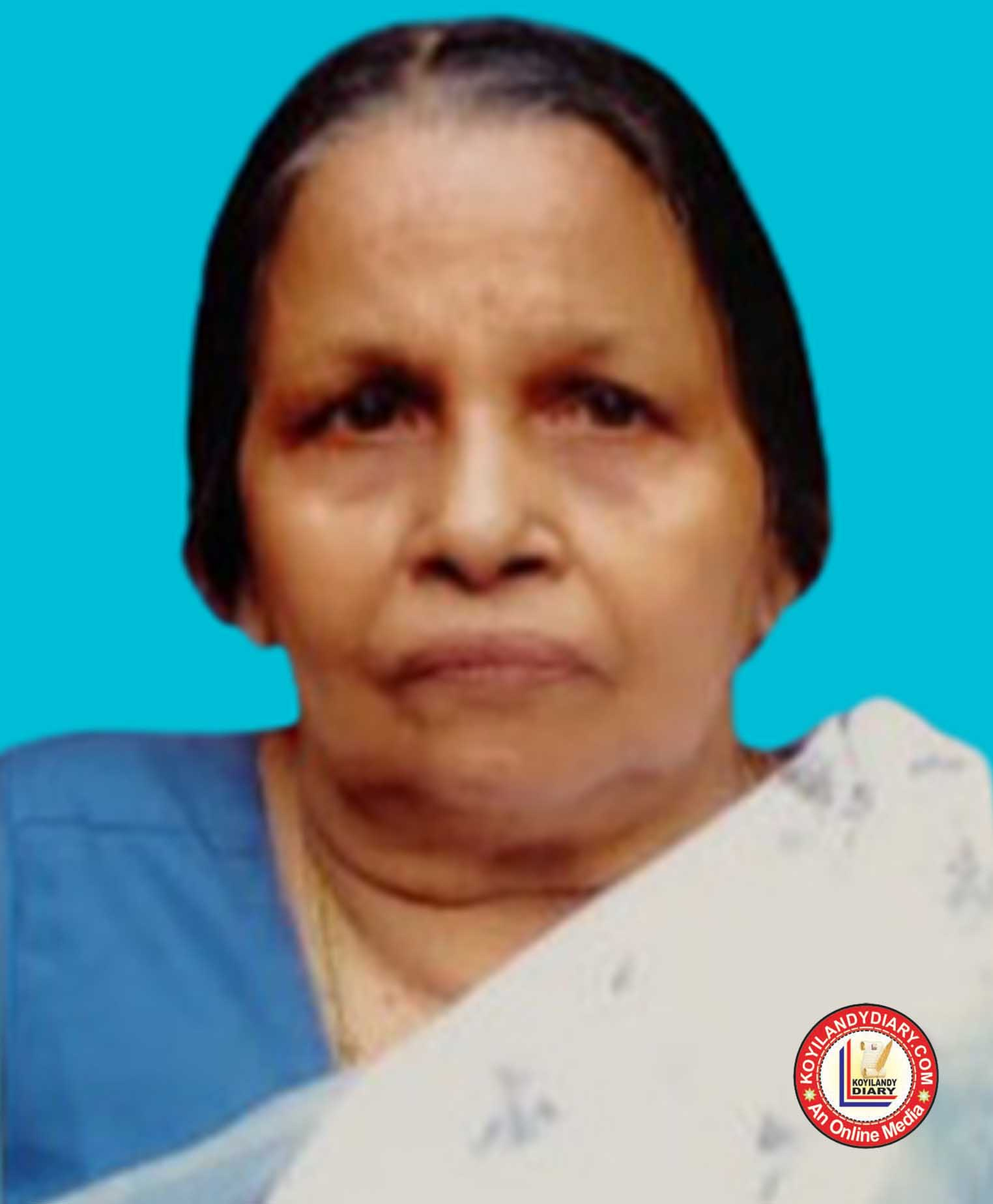 പയറ്റുവളപ്പിൽ ശ്രീനാരായണ ഗുരു റോഡ് കാക്കപൊയിൽ ദേവി (84)