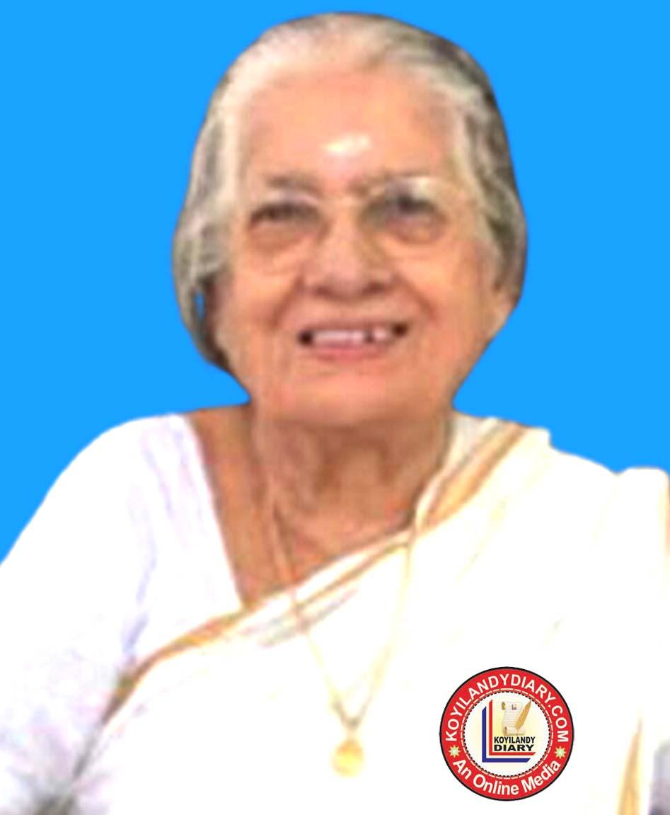 കൊയിലാണ്ടി നടുക്കണ്ടി ലക്ഷ്മി (91) മുംബൈയിൽ നിര്യതയായി