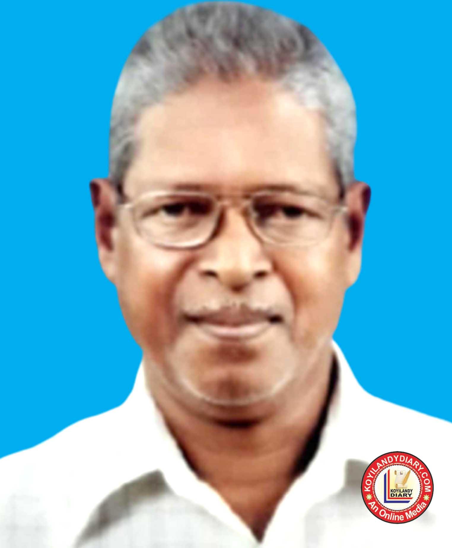 പന്തലായനി തച്ചോളി താഴെ കുനിയിൽ കൃഷ്ണൻ (78)