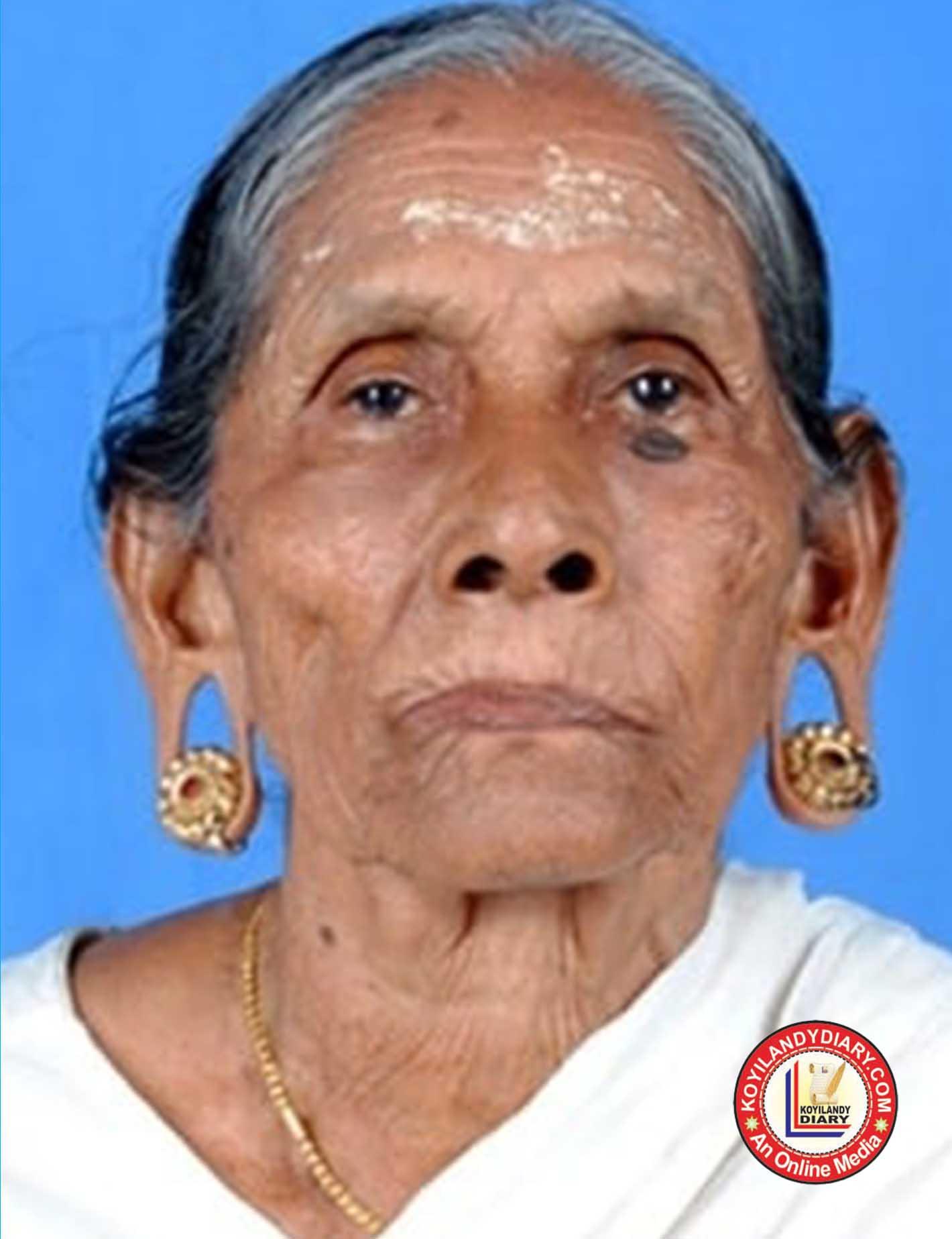 ചെങ്ങോട്ടുകാവ് വാവുലേരി താഴെകുനി ചിരുതേയിക്കുട്ടി അമ്മ  (101)