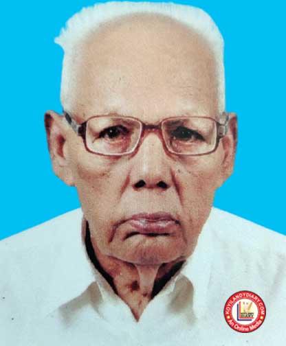 പന്തലായനി കുനിയിൽ ചേലോട്ട് കെ.സി. ഗംഗാധരൻ നായർ (90)