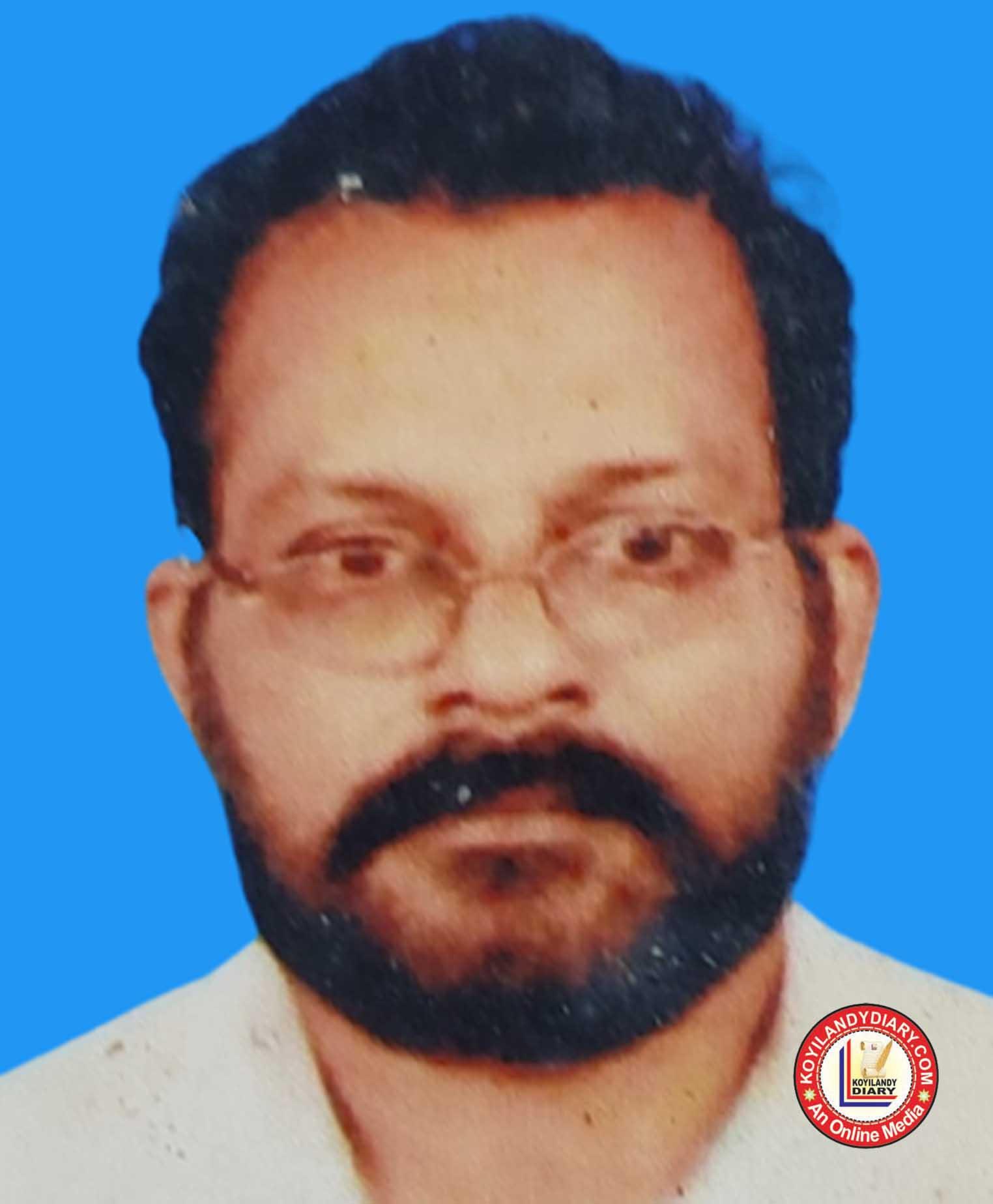 പൂക്കാട് തെക്കെലാട്ട് സുകുമാരൻ (73)