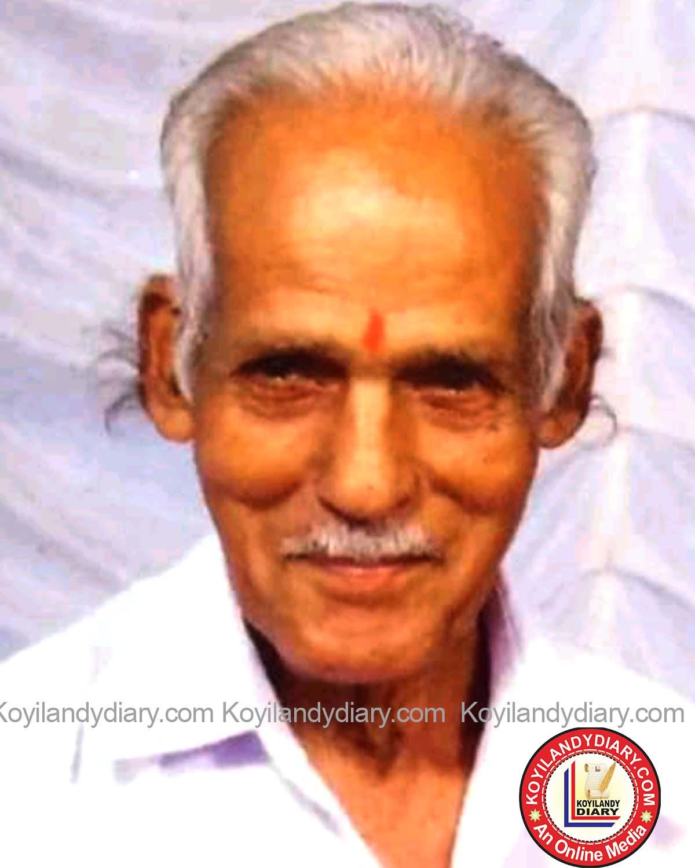 ചേമഞ്ചേരി പൂക്കാട് കൊളായി കിട്ടൻ (86)
