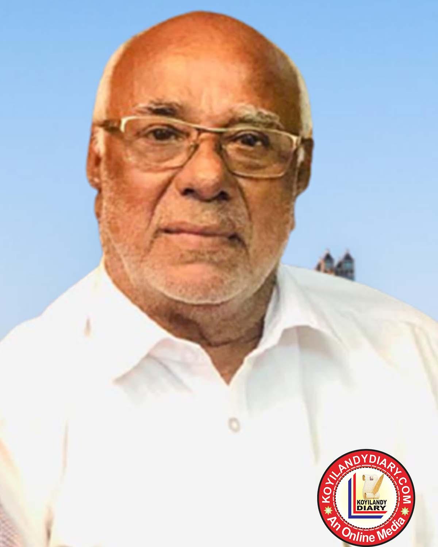 കൊയിലാണ്ടി സജ്ന മഹൽ കെ.പി.വി. അബ്ദുൽ ഖാദർ (82)
