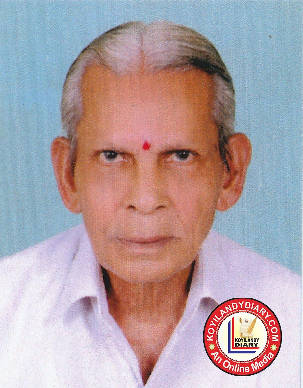 പൂക്കാട് കോട്ടുപുറത്ത് വേലായുധൻ (88)