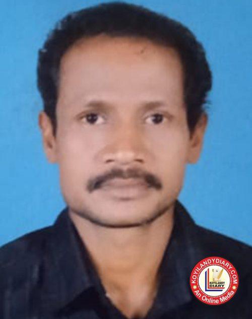വെങ്ങളം കൂട്ടുംമാരത്ത് രാജൻ (52)