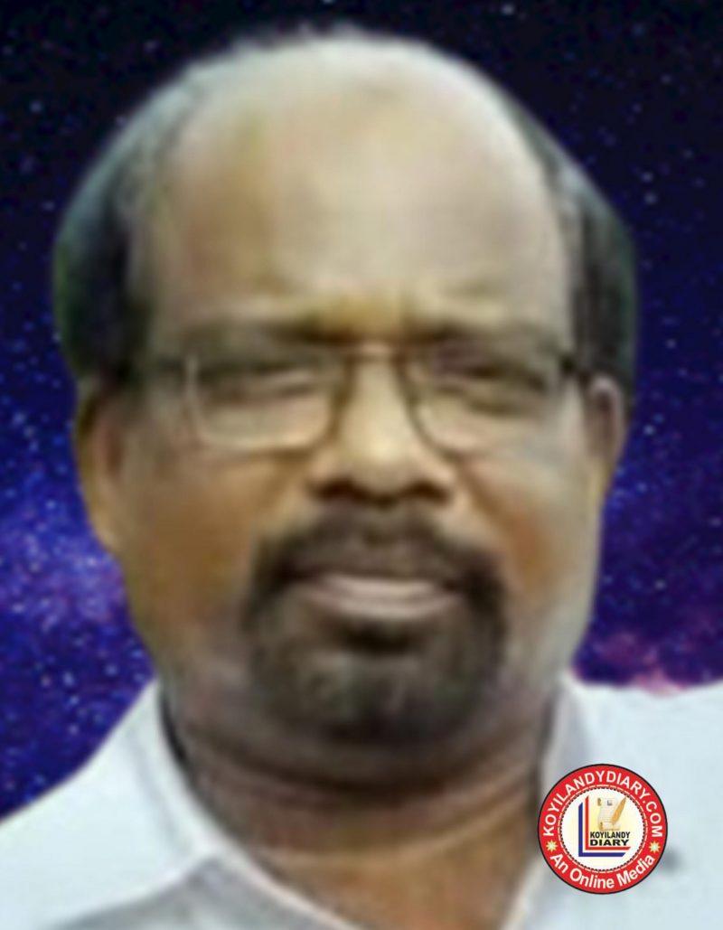വിളയാട്ടൂരിലെ വാഴയിൽ  ടി. വി സത്യനാഥൻ (65)