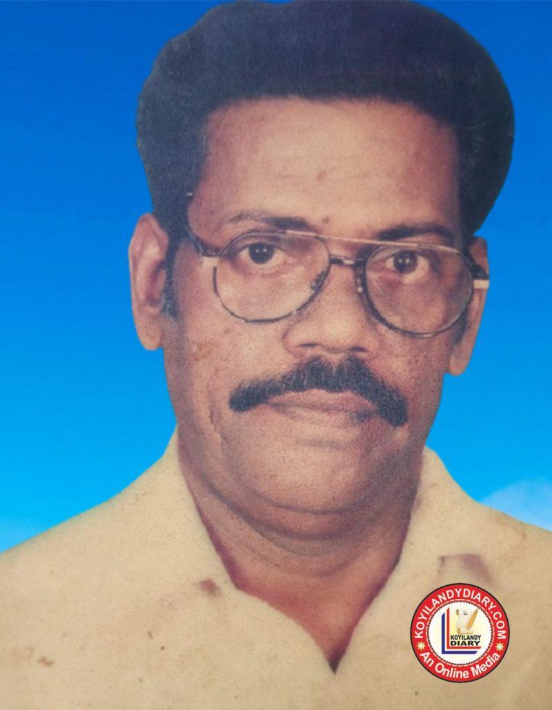 ചേലിയ വലിയറമ്പത് താമസിക്കും മണ്ണാരിപൊയിലിൽ ശ്രീധരൻ (69)