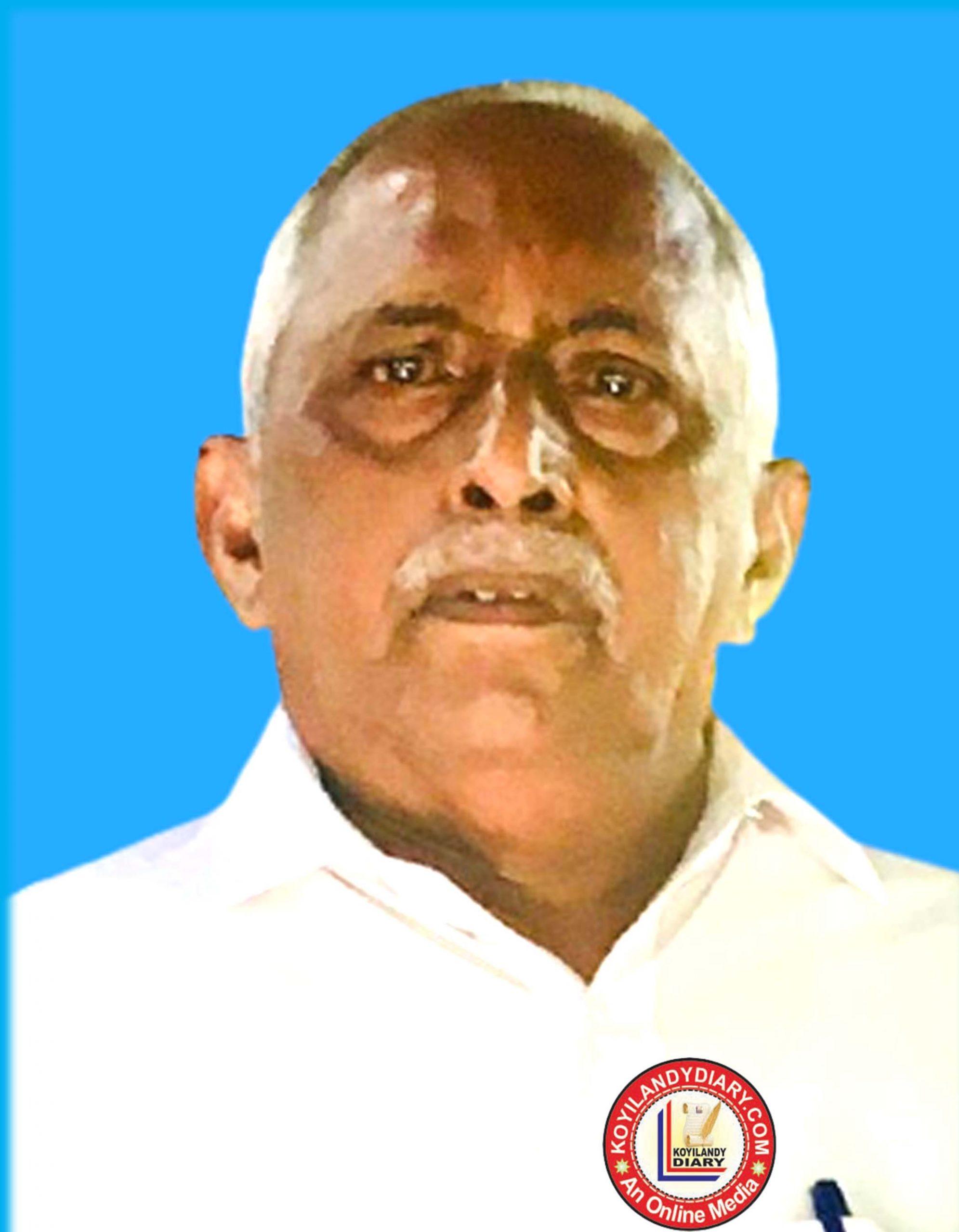 നന്തി ബസാർ നാരങ്ങോളികുളം ബറിനയിൽ സി. മുഹമ്മദ് (78)