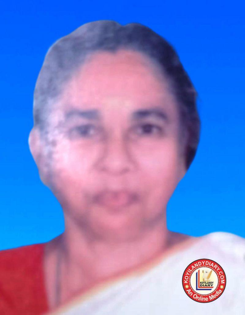 ചേലിയ പച്ചിളിച്ചികണ്ടി നാരായണി അമ്മ (78)