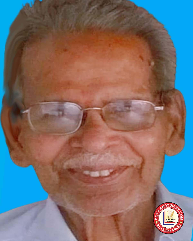 കൊയിലാണ്ടി മരളൂർ പുതുക്കുടി രാഘവൻ നായർ (97)