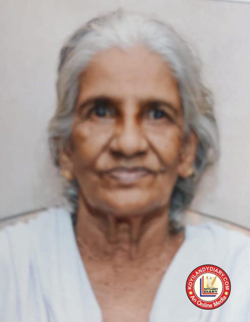 ചേമഞ്ചേരി നമ്പാട്ട് ഭാര്യ മീനാക്ഷി അമ്മ (86)
